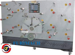 FR-1650-3A Satellite Type Rotary Die Cutting Machine